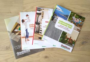 4 catalogues GEDIBOIS